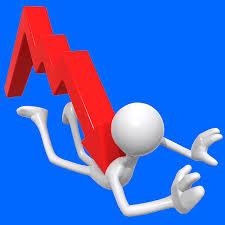 sales drop