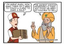 Sales Cartoon