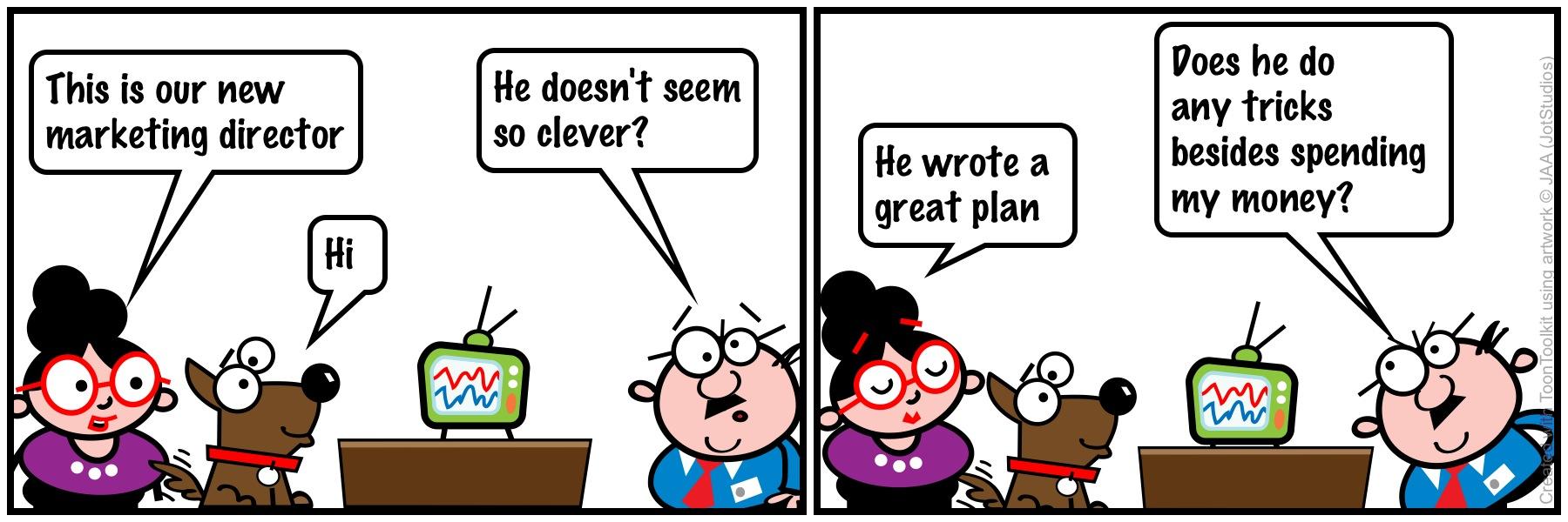 CMO comic