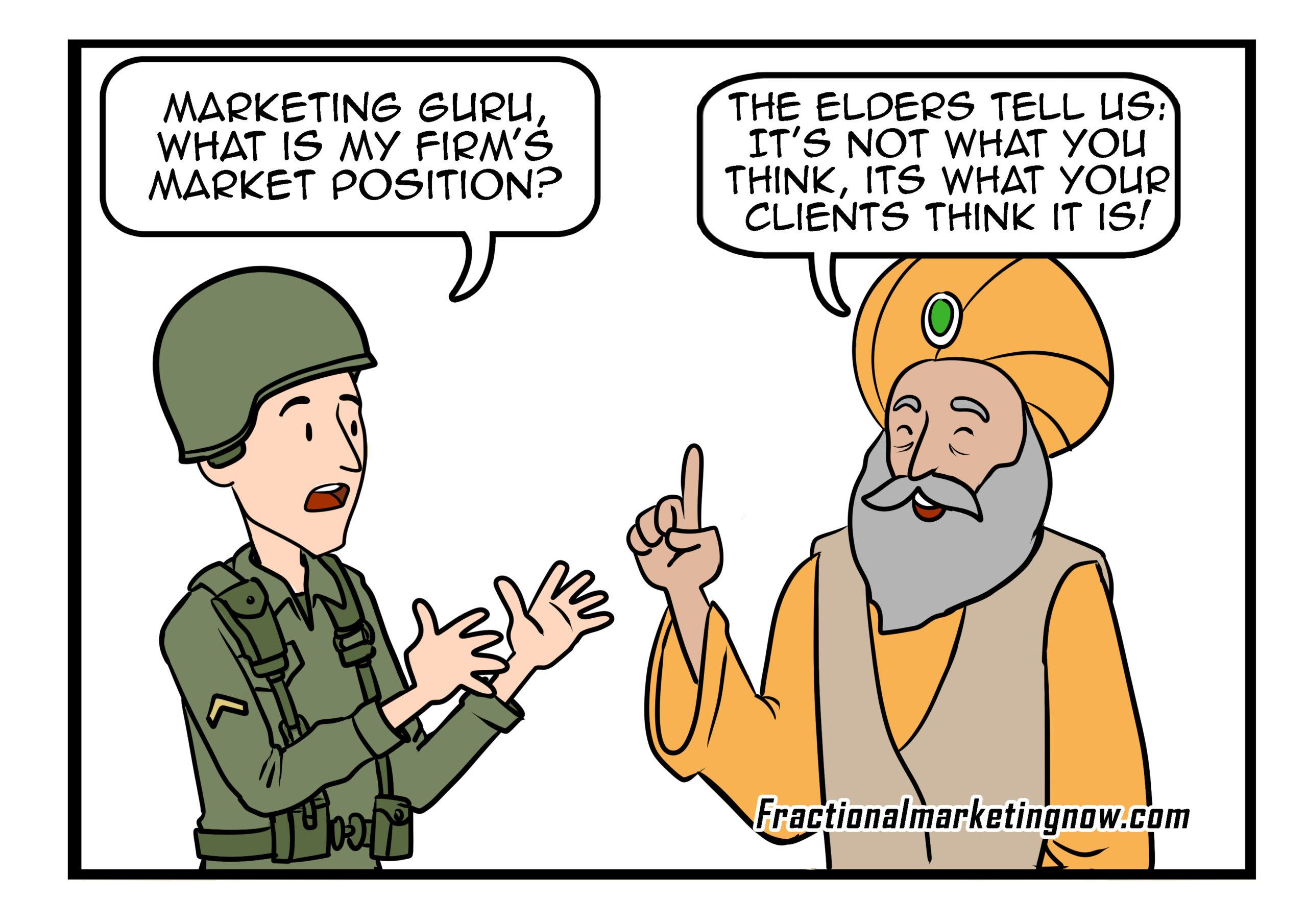 Marketing guru market position