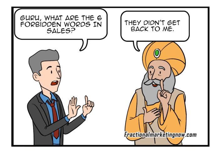 Sales Advice Comics