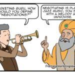 Marketing Negotiation Comic