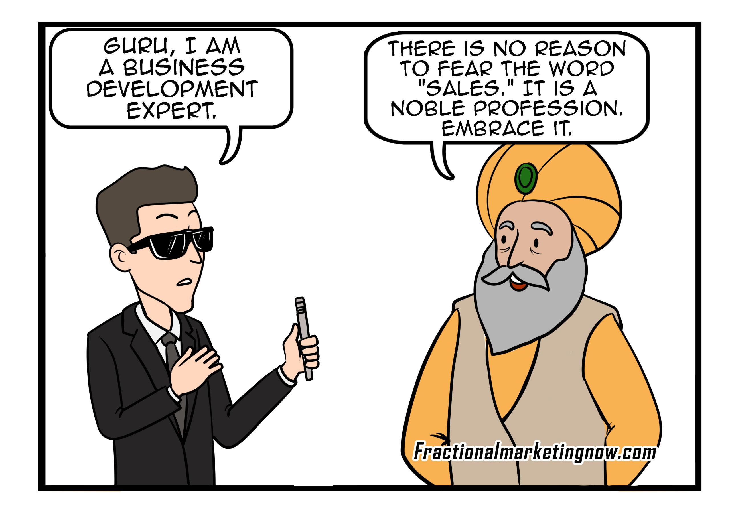 Marketing Guru- Sales Is not unholy