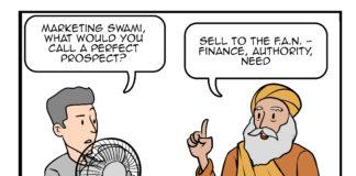 sales comic